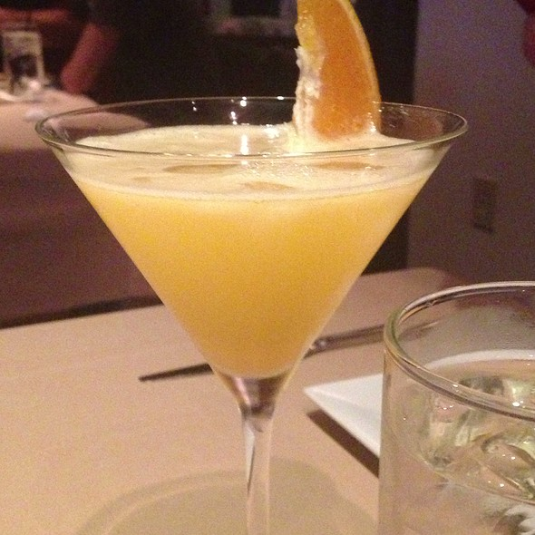 Orange Crush-Tini - Yao Fuzi Cuisine, Plano, TX