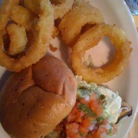 Chicken Burger - Rock Bottom Brewery Restaurant - Portland, Portland, OR