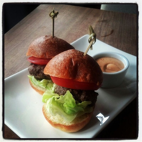 Grass Fed Sliders  - Fare Restaurant, Philadelphia, PA