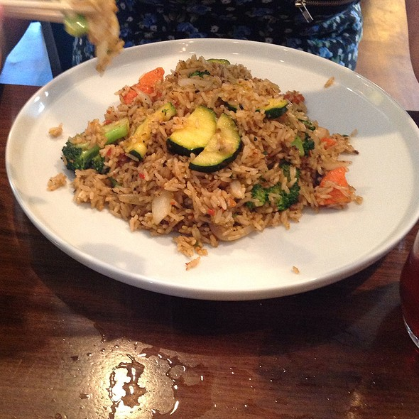 Basil Rice With Vegetables - Simply Thai, Louisville, KY