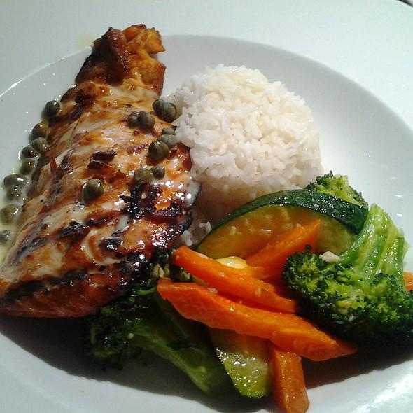 Grilled Salmon - Boheme Bistro, Delray Beach, FL