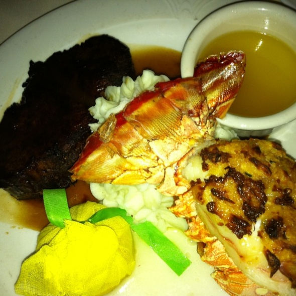 Filet & Lobster Tail - Rod's Steak and Seafood Grille, Convent Station, NJ