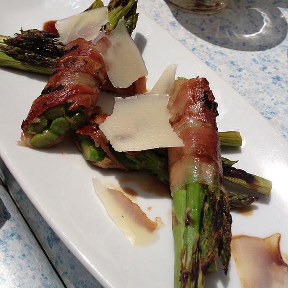 Spec Wrapped Asparagus - Mediterraneo Kitchen and Bar, Hermosa Beach, CA