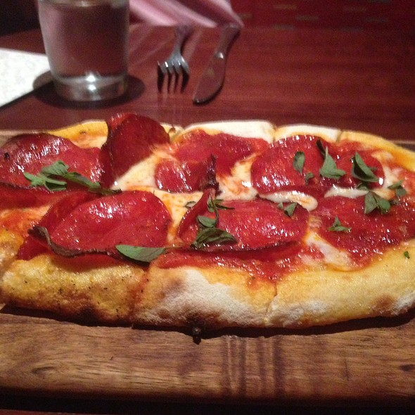 Pepperoni Flatbread - The Happ Inn, Northfield, IL