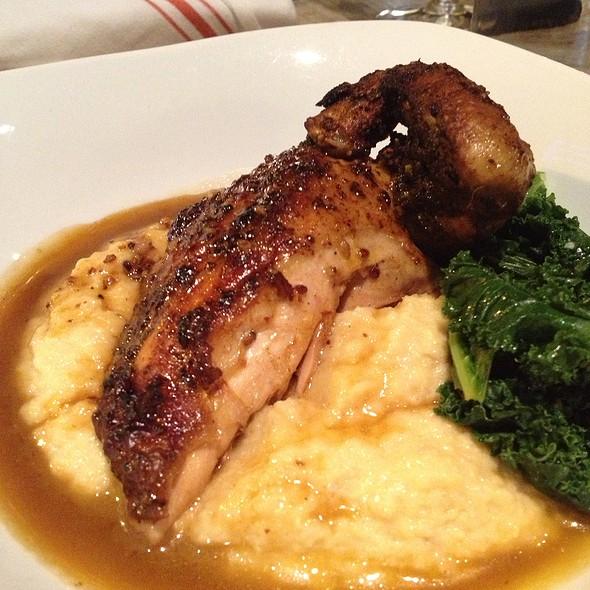 Vertically Roasted Chicken Breast - Second Bar + Kitchen, Austin, TX