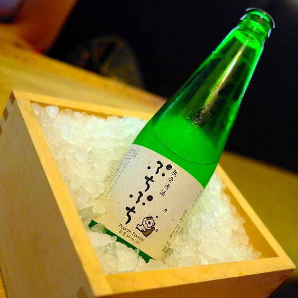 Poochi-Poochi Sparkling Sake - ShinBay, Scottsdale, AZ