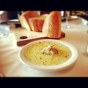 Bread & Rosemary Olive Oil - Bistro 821, Naples, FL