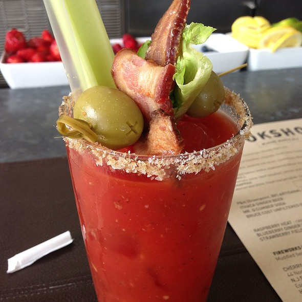 Bacon Bloody Mary - Cookshop, New York, NY