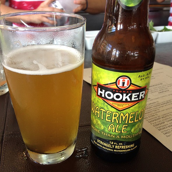 Hooker Watermelon Ale - Cookshop, New York, NY