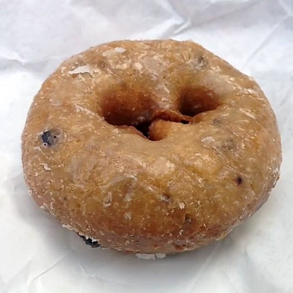 blueberry cake donut snowflake donuts menu richmond tx foodspotting 1967