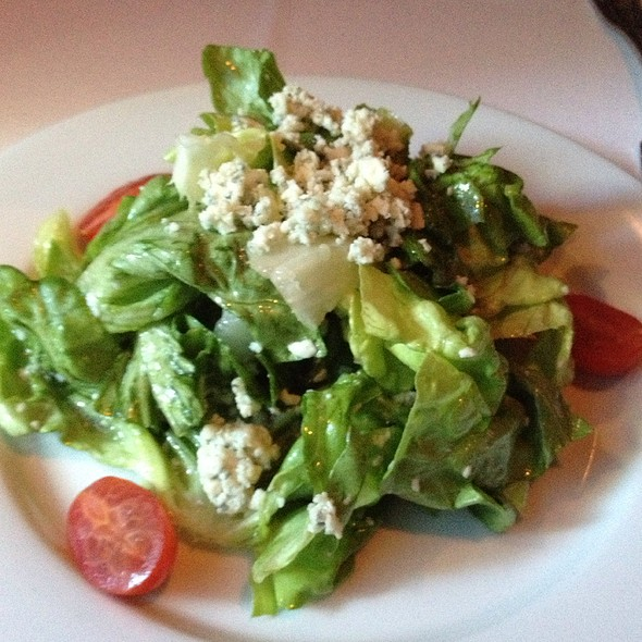 Butter Lettuce, Maytag Bleu, White Balsamic Vinaigrette - John Bentley's - Redwood City, Redwood City, CA