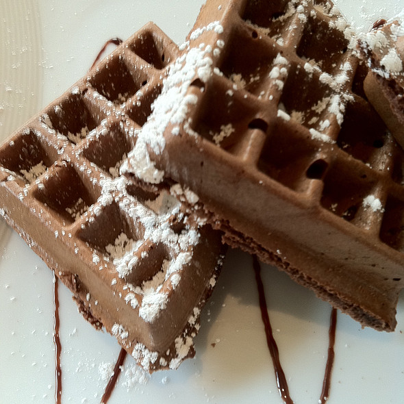 Chocolate Waffles - Frank & Alberts, Phoenix, AZ