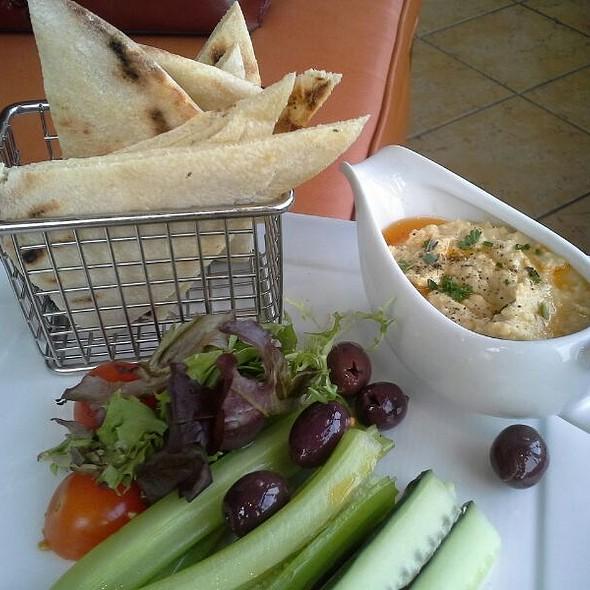 Roasted Garlic Hummus - Arterra, San Diego, CA