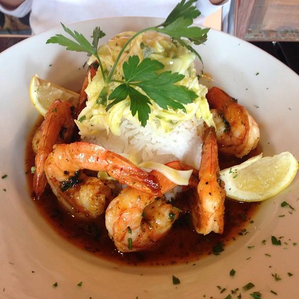 Camarones con Cana (mango glazed shrimp) - Picante Latin Fusion Restaurant, Los Angeles, CA