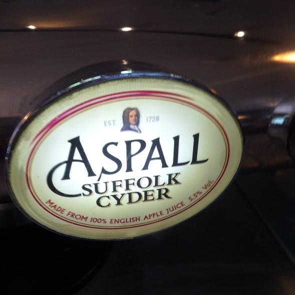 Aspall Suffolk Cider - The Mitre, London