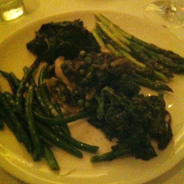 Selection Of Sauteed Seasonal Vegetables - The Leopard at des Artistes, New York, NY