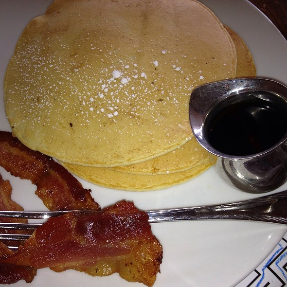 Buttermilk Pancakes with bacon - Signature Grill at the JW Marriott Starr Pass Resort & Spa, Tucson, AZ