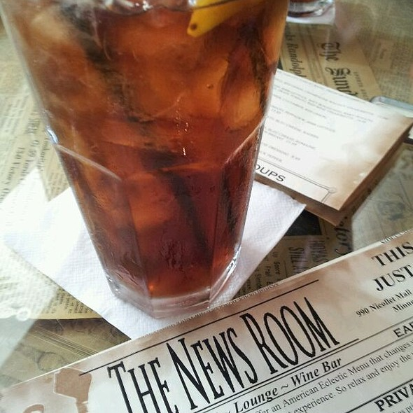 Iced Tea With Lemon - The News Room, Minneapolis, MN