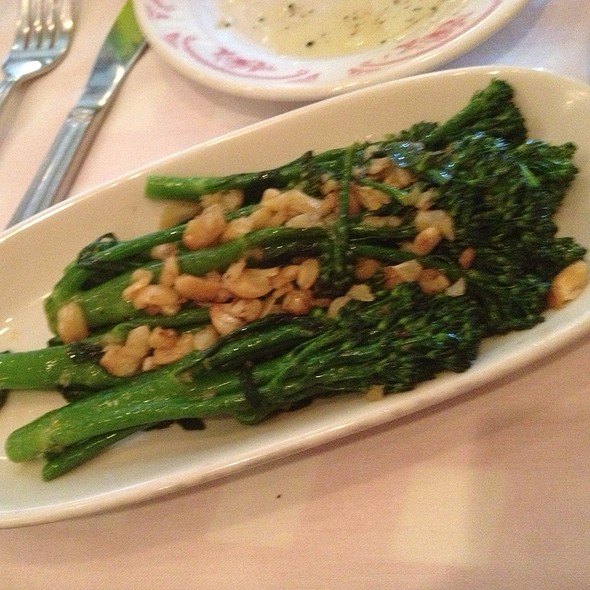 Broccolini With Lemon And Garlic - Maggiano's - Troy, Troy, MI