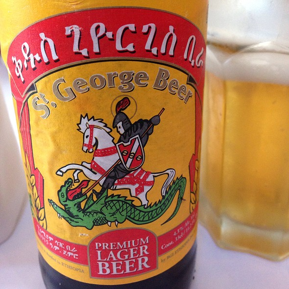 St. George Ethiopian Beer - Das Ethiopian - Georgetown, Washington, DC