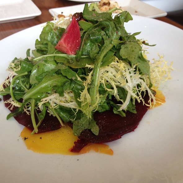 Beet and Goat Cheese Salad - Stella 34 Trattoria, New York, NY