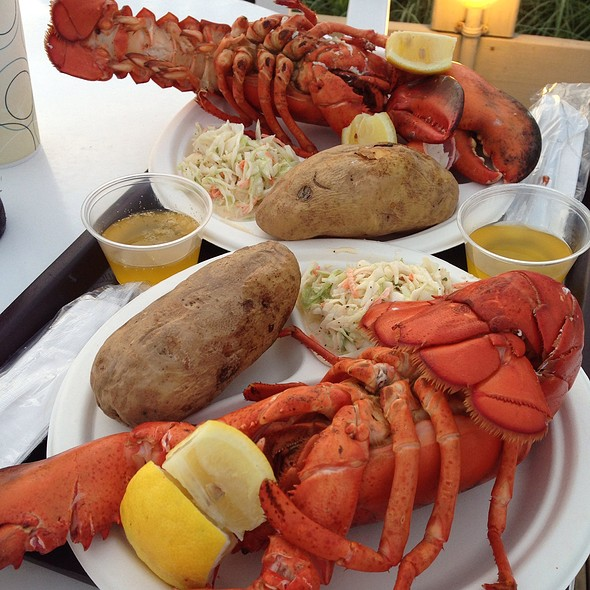 Lobster - Duryea's Lobster Deck, Montauk, NY