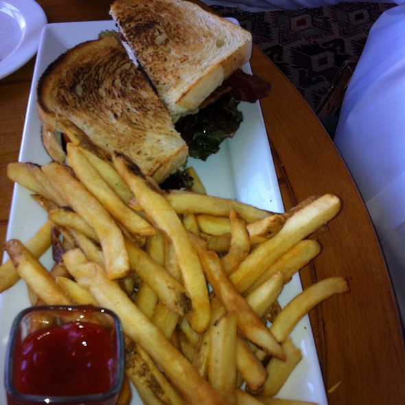 Grilled Chicken BLT Sandwich - Signature Grill at the JW Marriott Starr Pass Resort & Spa, Tucson, AZ