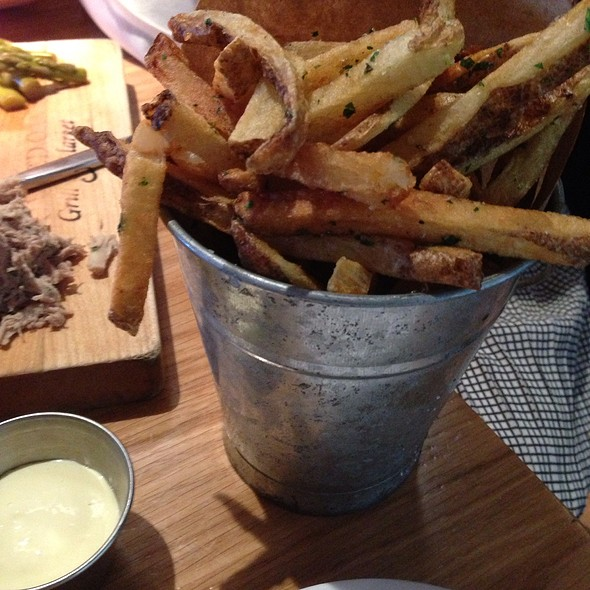 Handcut Fries With Lemon Aioli - Toasted Oak Grill & Market, Novi, MI