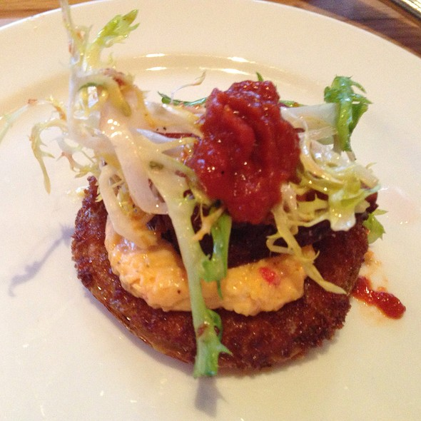 Fried Green Tomato BLT - Yardbird Southern Table & Bar, Miami Beach, FL