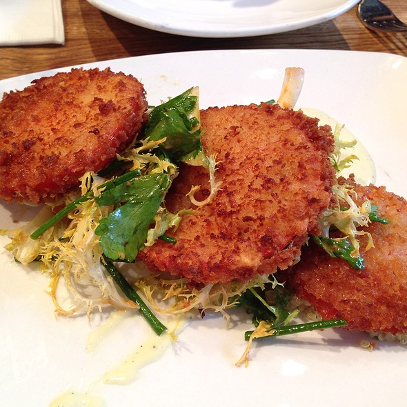 Fried Green Tomatoes - Soco, Brooklyn, NY