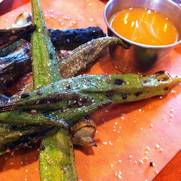 Spicy Grilled Okra - Borgne, New Orleans, LA