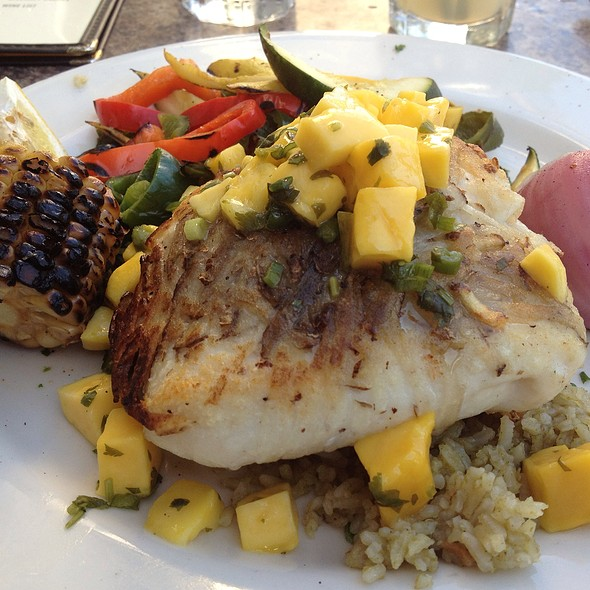 Potato Crusted Halibut - Cava Restaurant & Bar, Santa Barbara, CA