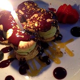 My Special Birthday Dessert - PAON Restaurant & Wine Bar, Carlsbad, CA