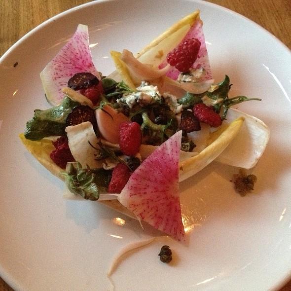 Ice Lettuce & Endive Salad - Natural Selection, Portland, OR