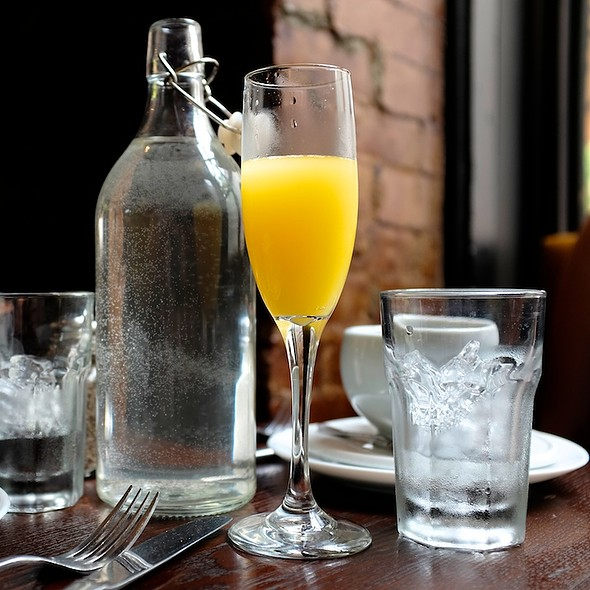world's best brunch cocktail - The Hamilton Inn, Jersey City, NJ