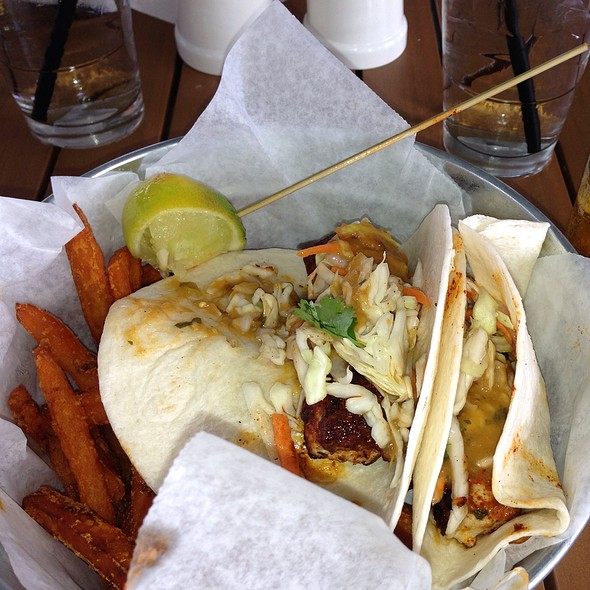fish tacos - Charleston Harbor Fish House - Charleston Harbor Resort & Marina, Mount Pleasant, SC