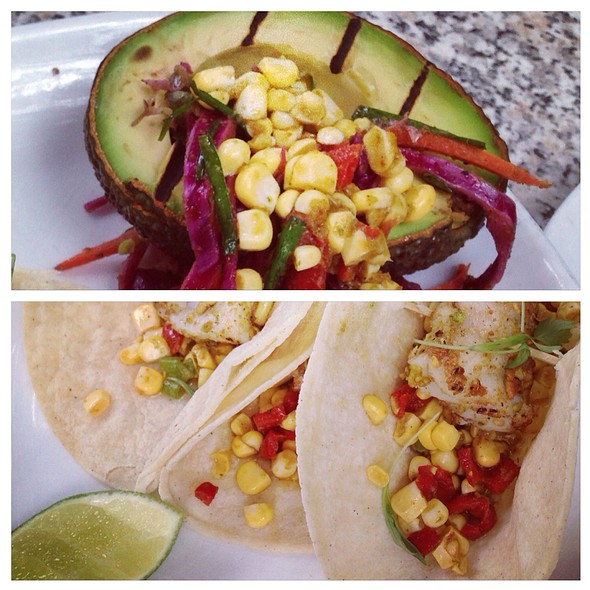 Black Grouper Tacos - Max's Harvest, Delray Beach, FL