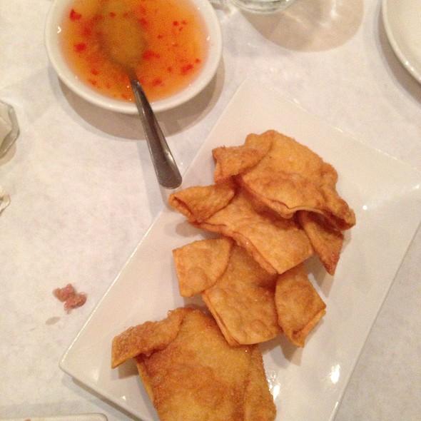 Crab Rangoon - Moon Palace Restaurant, Chicago, IL