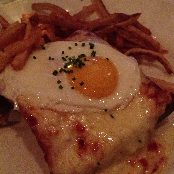 Croque Madame - Bistro Campagne, Chicago, IL