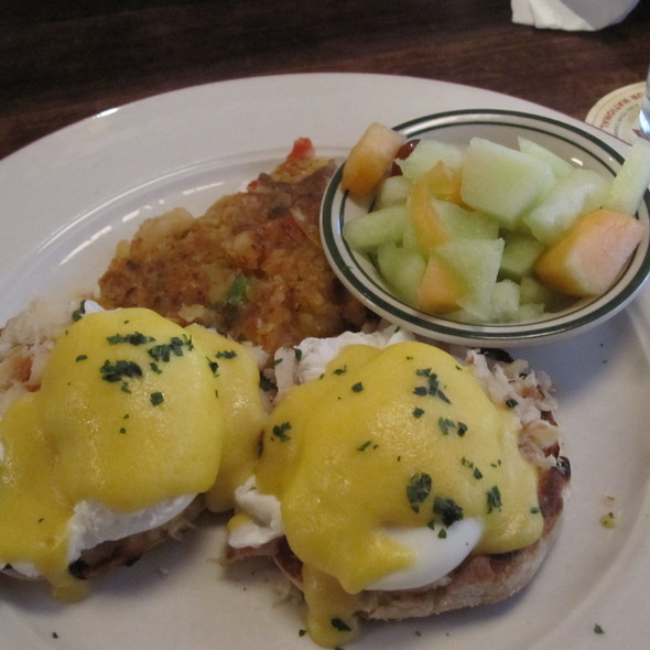 Eggs Benedict - Tavern on Jane, New York, NY