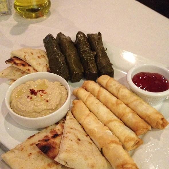 Anatolia Sampler Platter - Anatolia Turkish Restaurant, Nashville, TN