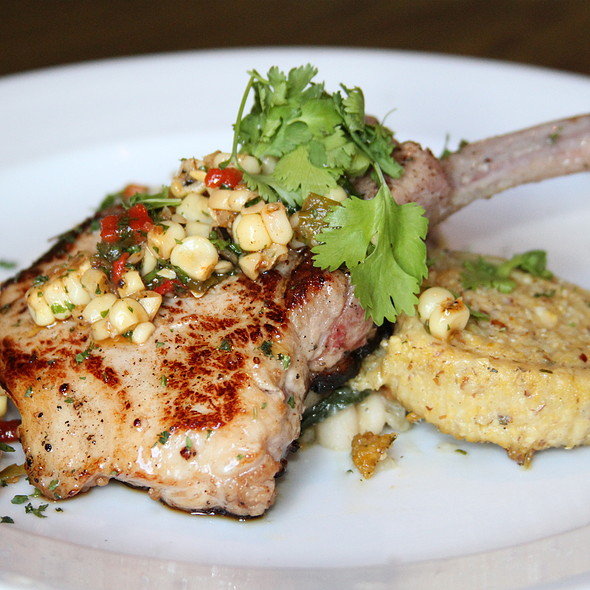 Grilled Pork Chop - Il Villaggio Osteria, Teton Village, WY