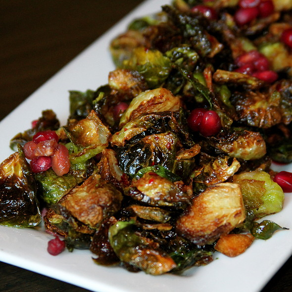 Fried Brussels Sprouts - Il Villaggio Osteria, Teton Village, WY
