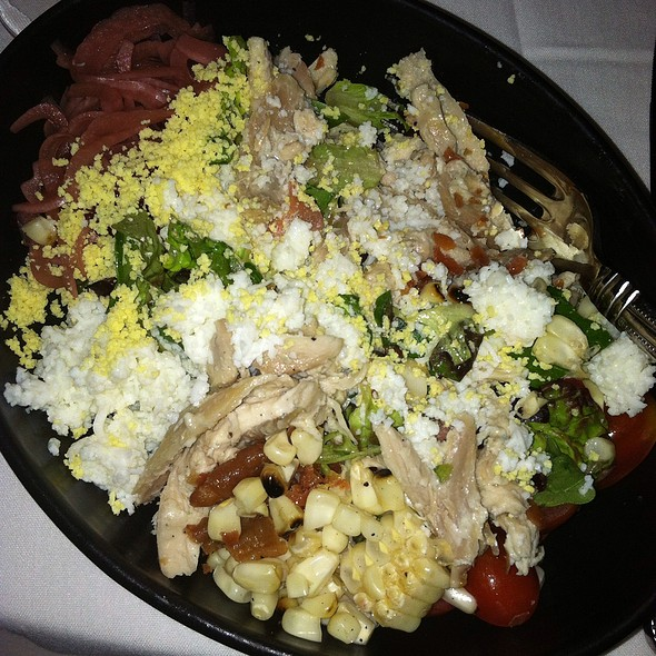Smoked Chicken Cobb Salad - Stars Restaurant - Rooftop & Grill Room, Charleston, SC