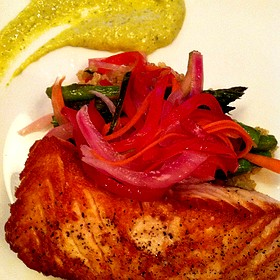 Salmon - Posh at The Scranton Club, Scranton, PA