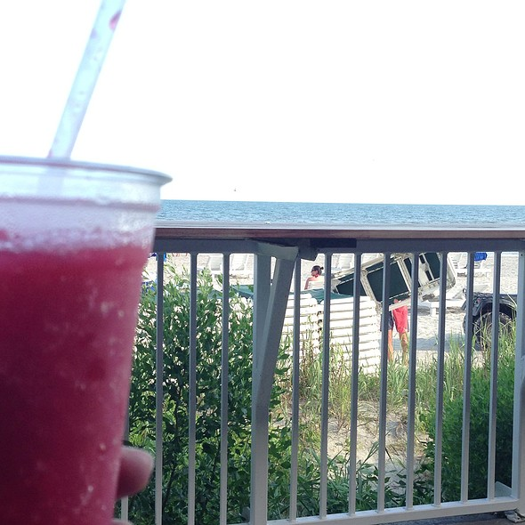 Strawberry Daiquiri - BLU Restaurant & Bar, Folly Beach, SC