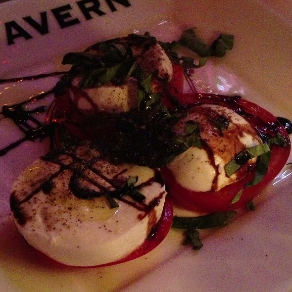 Tomato And Fresh Buffalo Mozzarella - The Tavern, Libertyville, IL