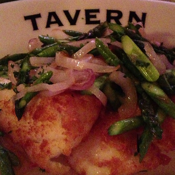 Sauteed Halibut - The Tavern, Libertyville, IL