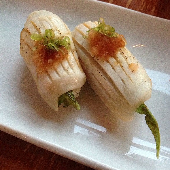 Seared Escolar - Moshi Moshi Sushi, Seattle, WA