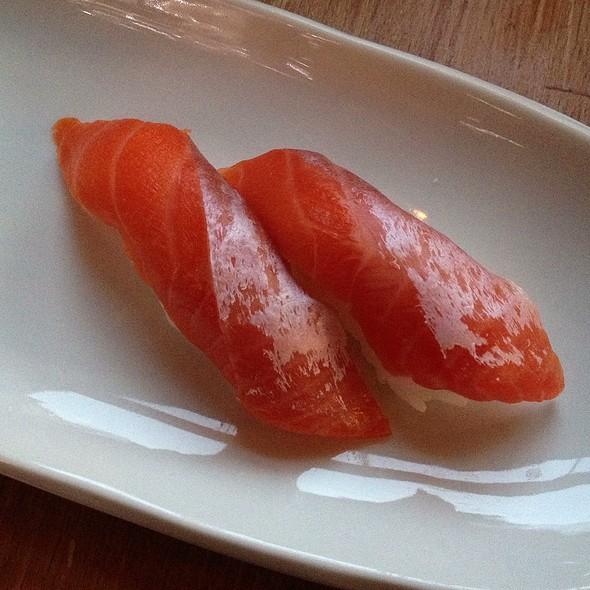 Sockeye Salmon Nigiri - Moshi Moshi Sushi, Seattle, WA